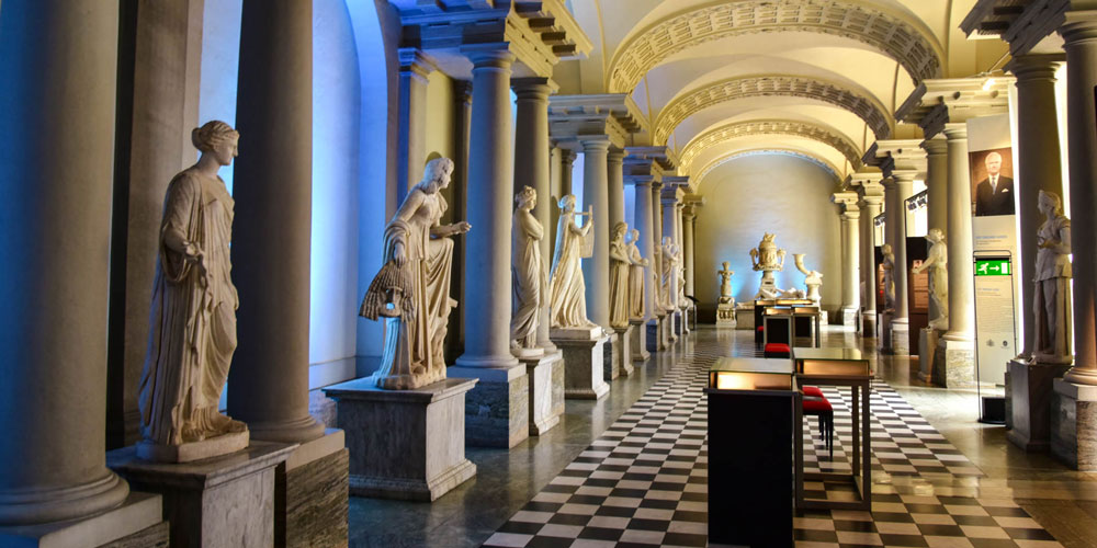 Art Museum in Stockholm Palace - Gustav III